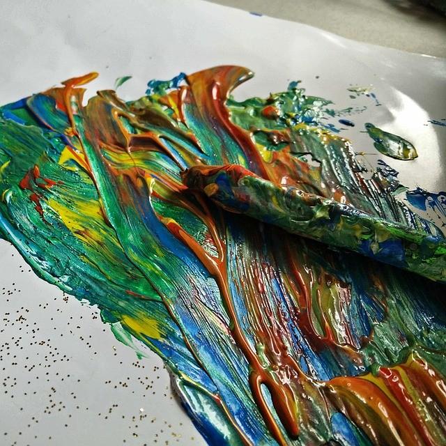 Acrylmalerei Anleitungen Acrylbilder Und Acrylfarben